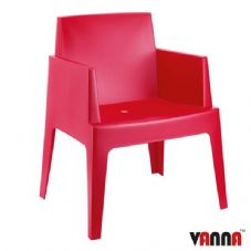 Vanna Beach Arm Chair - Red